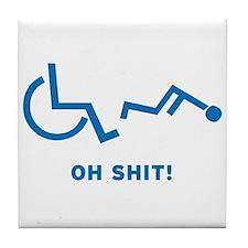 Disabled Stuck Tile Coaster