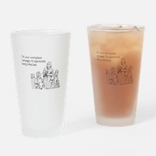 Workplace Rampage Pint Glass