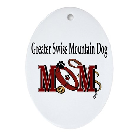 Greater Swiss Mountain Dog Oval Ornament