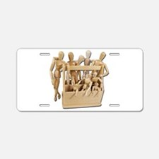 Toolbox of Inspiration Aluminum License Plate