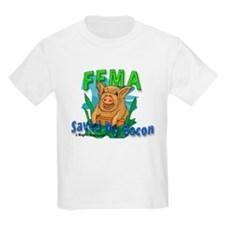 FEMA Saved My Bacon - Kids T-Shirt