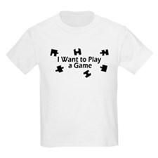 I Want to Play a Game Jigsaw T-Shirt
