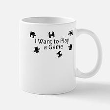 I Want to Play a Game Jigsaw Mug