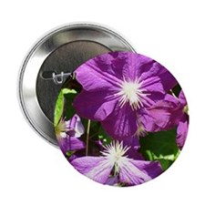 "Flowers 2.25"" Button (10 pack)"