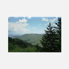 Great Smokey Mountains Rectangle Magnet