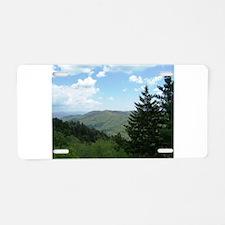 Great Smokey Mountains Aluminum License Plate