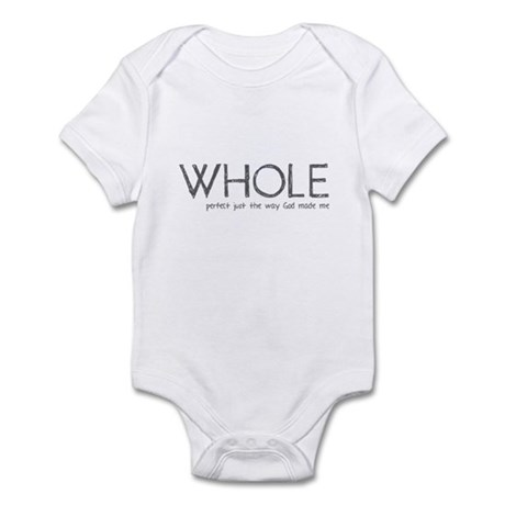 Whole: Perfect Just the Way G Infant Bodysuit