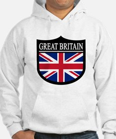Great Britain Patch Jumper Hoody
