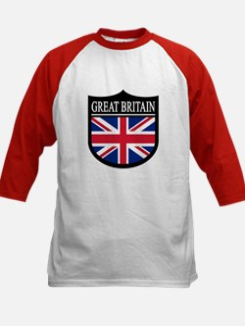 Great Britain Patch Kids Baseball Jersey