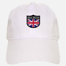 Great Britain Patch Baseball Baseball Cap