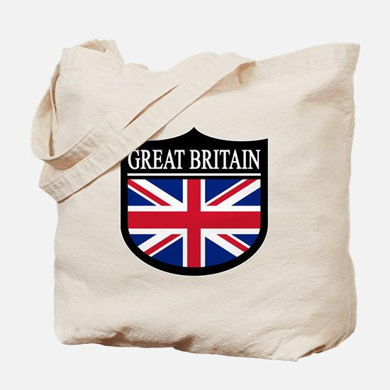 Great Britain Patch Tote Bag