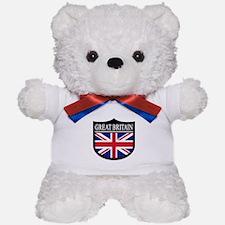 Great Britain Patch Teddy Bear
