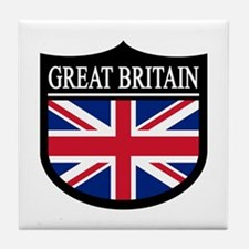 Great Britain Patch Tile Coaster