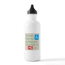 MS Parking Spot Sports Water Bottle