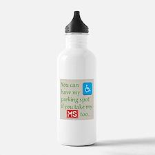 MS Parking Spot Water Bottle
