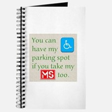 MS Parking Spot Journal