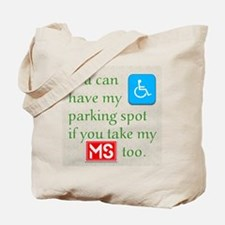MS Parking Spot Tote Bag