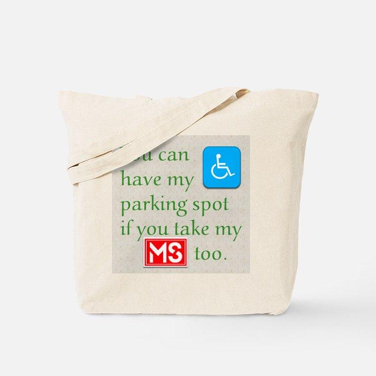 MS Parking Spot Tote Bag