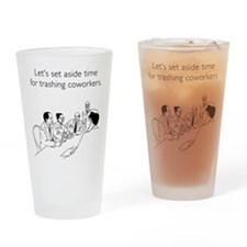 Trashing Coworkers Pint Glass