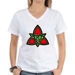 Celtic Knot Women's V-Neck T-Shirt