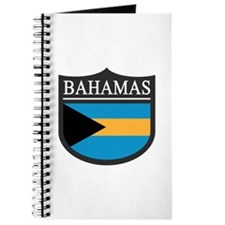Bahamas Flag Patch Journal