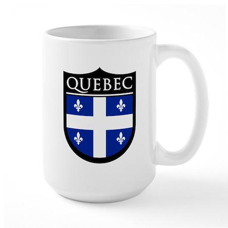 Quebec Flag Patch Large Mug