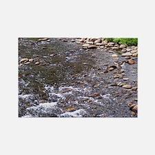 Mountain Stream Rectangle Magnet