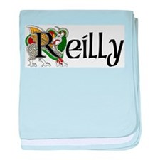 Reilly Celtic Dragon baby blanket