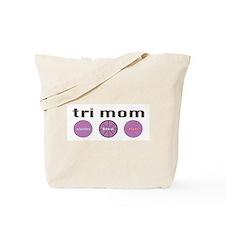 Funny Ironman triathlon biking Tote Bag
