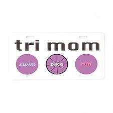 Unique Mum Aluminum License Plate