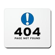 404 Error Mousepad