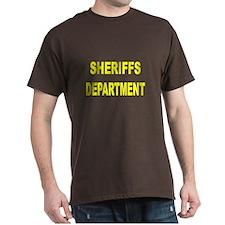 Sheriffs Department T-Shirt (2 Sided)