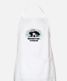 WHATEVER IT WAS IM INNOCENT  BBQ Apron