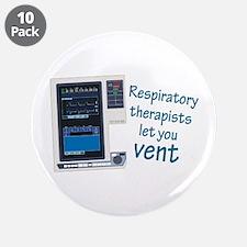 "Cute Respiratory 3.5"" Button (10 pack)"