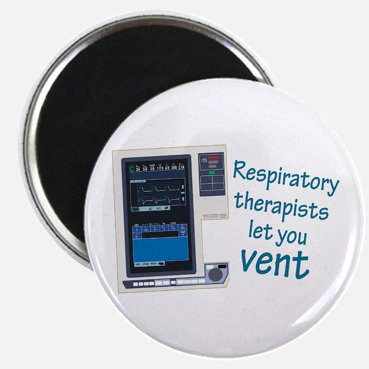 "Cute Respiratory 2.25"" Magnet (100 pack)"