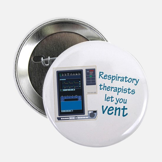 "Cute Respiratory 2.25"" Button"