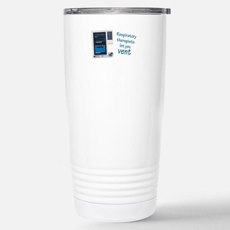 Cute Respiratory therapists Travel Mug