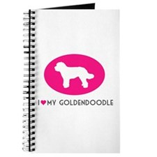 Cute Goldendoodle Journal