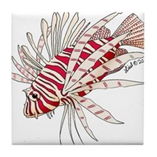 Lionfish Tile Coaster