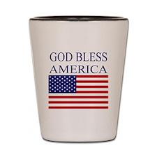 Patriotic Shot Glass
