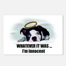 WHATEVER IT WAS IM INNOCENT  Postcards (Pack Of 8)