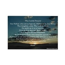 The Lords Prayer Rectangle Magnet