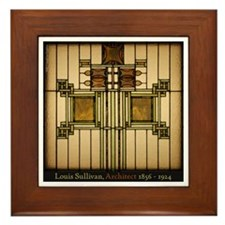 Prairie Glass Framed Tile