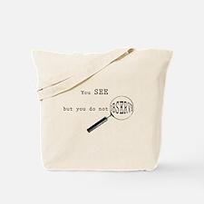 Funny Sherlock holmes Tote Bag