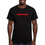 HIPHOPHEROIN MERCHANDISE Men's Fitted T-Shirt (dar