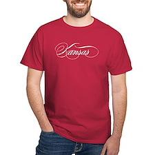Kansas Light distressed-01 T-Shirt