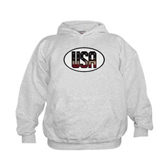 USA OVAL STICKERS & MORE! Hoodie