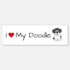 Unique Goldendoodle Sticker (Bumper)
