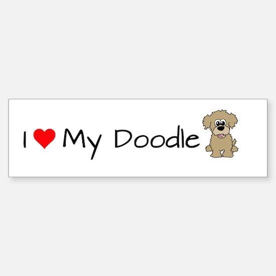 Funny Labradoodles Sticker (Bumper)