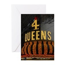 4 Queens Las Vegas Greeting Cards (Pk of 20)